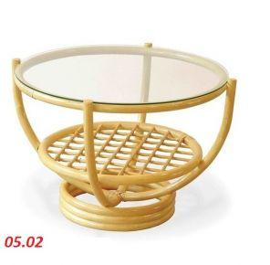 Кофейный столик круглый 60 см
